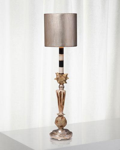 Mardi Gras Star Table Lamp