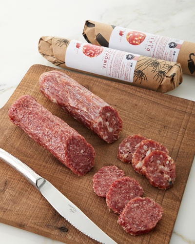 Taste Of Italy Artisan Salami Collection Gift Box