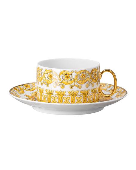Versace Medusa Rhapsody Tea Cup & Saucer