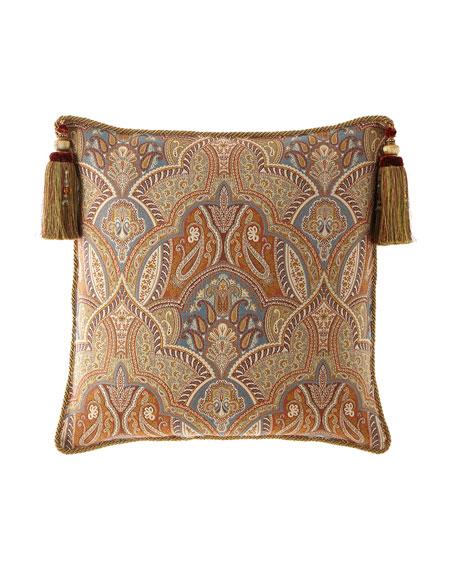 Dian Austin Couture Home Sandoa European Sham with Tassels