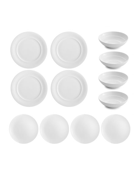 Nambe City Dweller 12-Piece Dinnerware Set