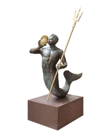 Michael Aram Triton Sculpture, Limited Edition of 5