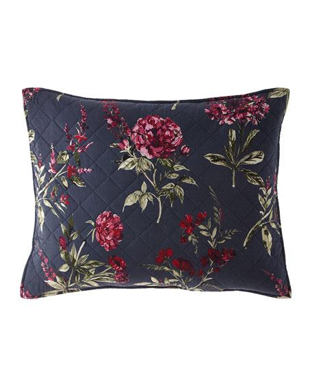 Design Source Willow Floral 3-Piece King Quilt Set
