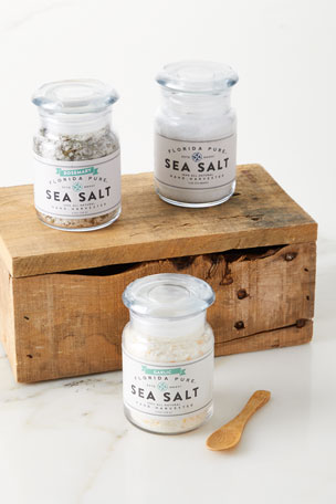 Florida Pure Sea Salt Sunshine Wooden Gift Box