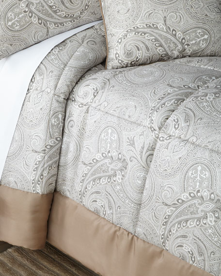 Etro Quilted Paisley King Comforter Set