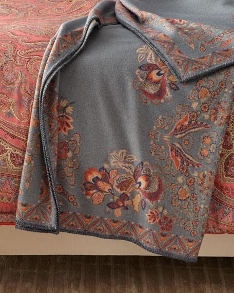 Etro Wool Throw Blanket