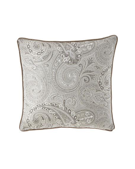 "Etro Paisley Decorative Pillow, 18""Sq."