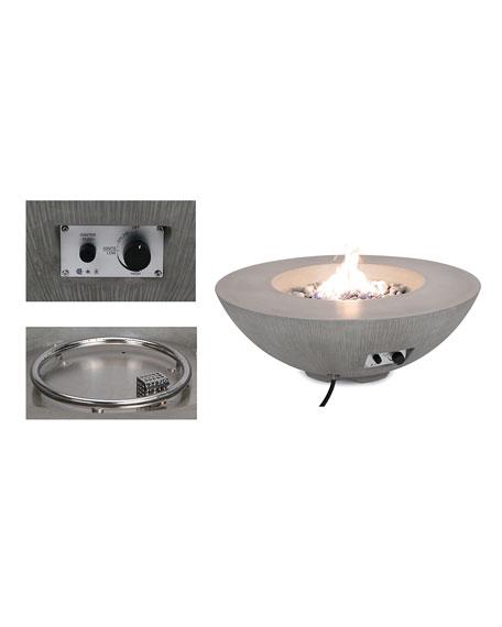 Pyromania Shangri-la Fire Table - Natural Gas