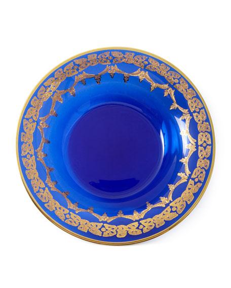 Exclusive Blue Oro Bello Soup Bowls, Set of 4