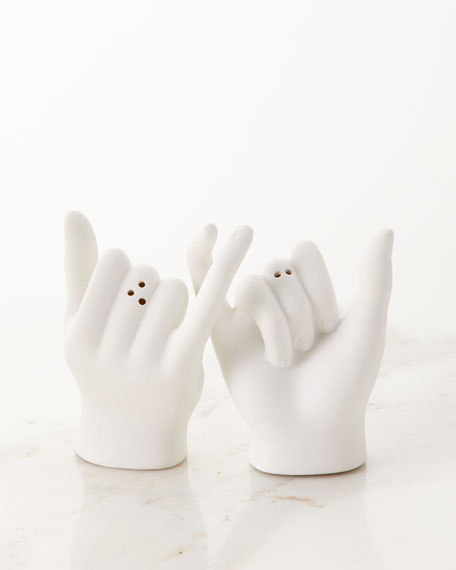 DOIY Pinky Swear Salt & Pepper Shakers