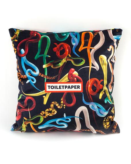 Seletti Printed Pillow