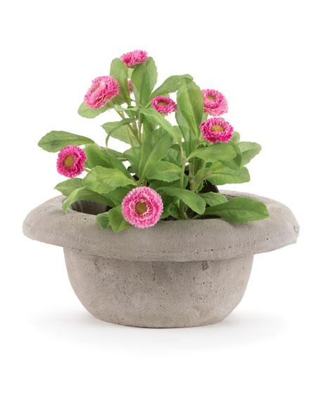 """Seletti """"Chapeau-Bombetta"""" Cement Vase"""