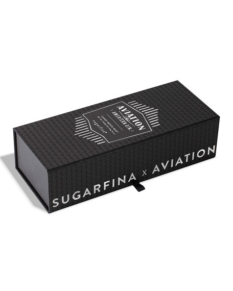 Image 1 of 3: Sugarfina Aviation Gin 3-Piece Candy Bento Box