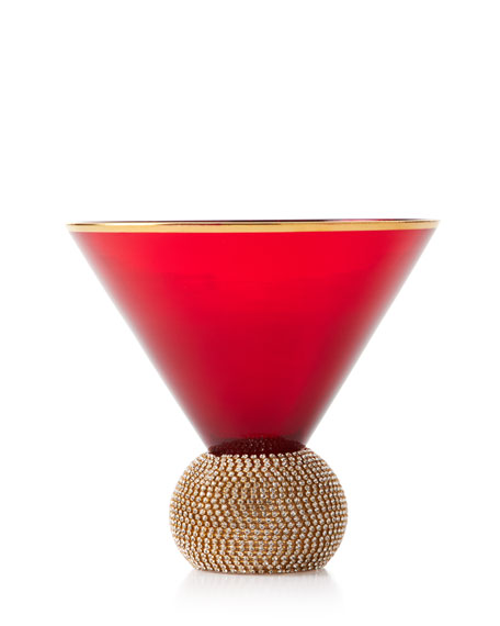 Godinger Bling Martini Glass