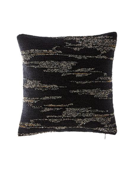 Donna Karan Home Donna Karan Collection Novelty Yarn Decorative Pillow