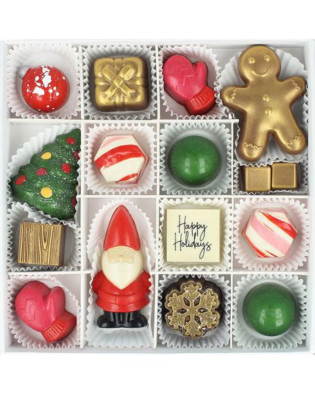 Maggie Louise Naughty or Nice Chocolate Gift Box