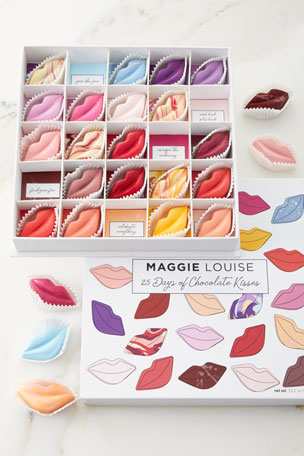 Maggie Louise 25 Days of Kisses Chocolate Gift Box  $110.00