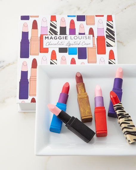 Image 1 of 2: Maggie Louise Chocolate Lipstick Case