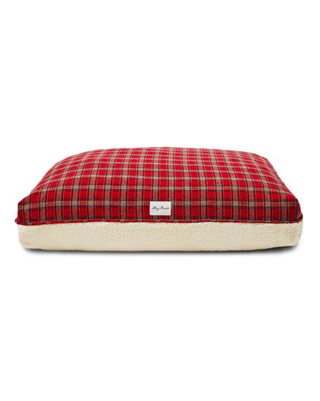 Harry Barker Plaid Sherpa Large Dog Bed