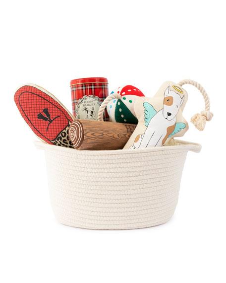 Harry Barker Dog Toy Bin Gift Basket