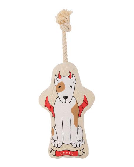 Harry Barker Naughty/Nice Canvas Large Dog Toy