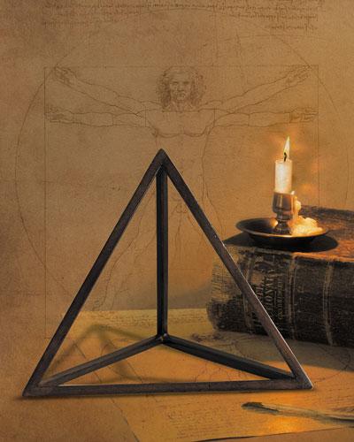 Tetrahedron Decor