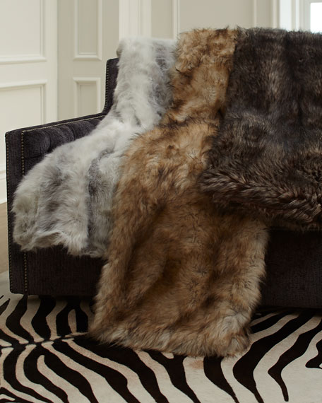 Fabulous Furs Limited Edition Throw