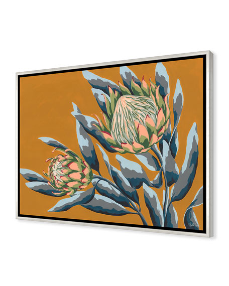 Color Of Summer VI Giclee On Canvas Wall Art With Frame