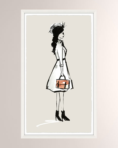 OOTD Fancy I Giclee On Paper Wall Art With Frame