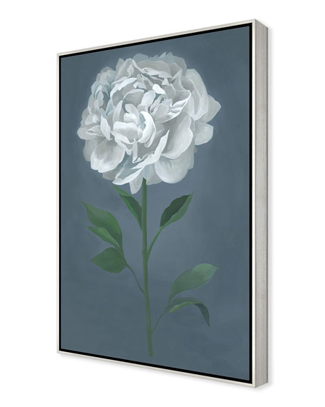 A Flower For Her II Giclee On Canvas Wall Art With Frame