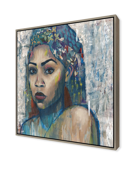 Beauty In Color I Giclee On Canvas Wall Art With Frame