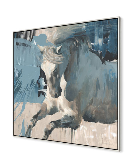 Movement Of The Horse Giclee On Canvas Wall Art With Frame