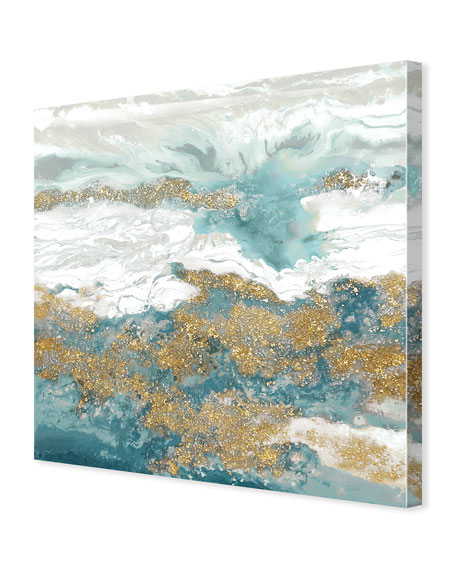 A River Of Tales Giclee On Canvas Wall Art