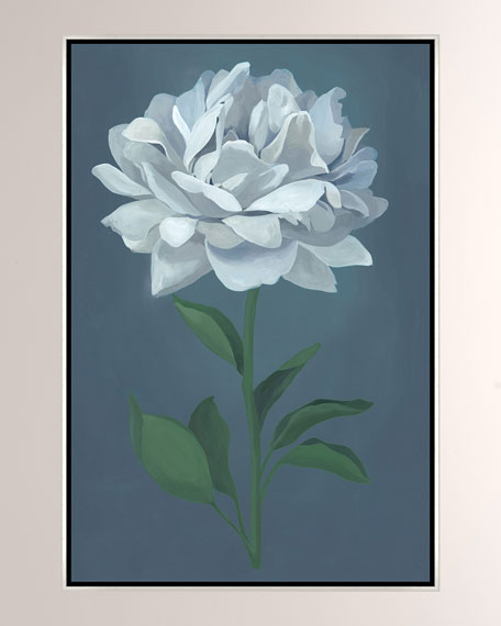 A Flower For Her I Giclee On Canvas Wall Art With Frame