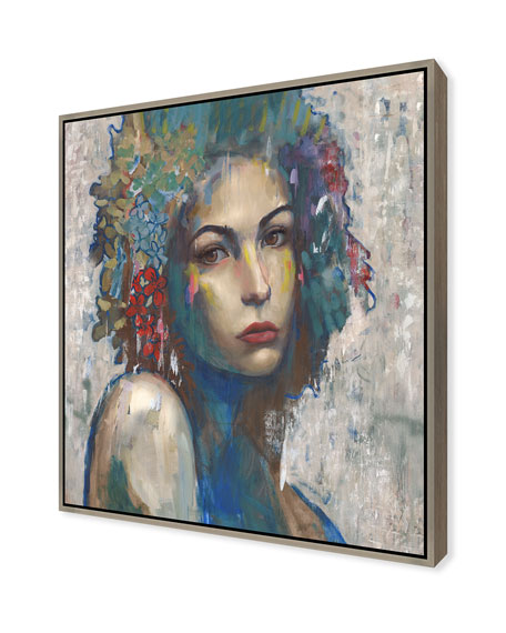 Beauty In Color II Giclee On Canvas Wall Art With Frame