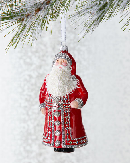 Patricia Breen Bassenge Claus Peppermint Ornament