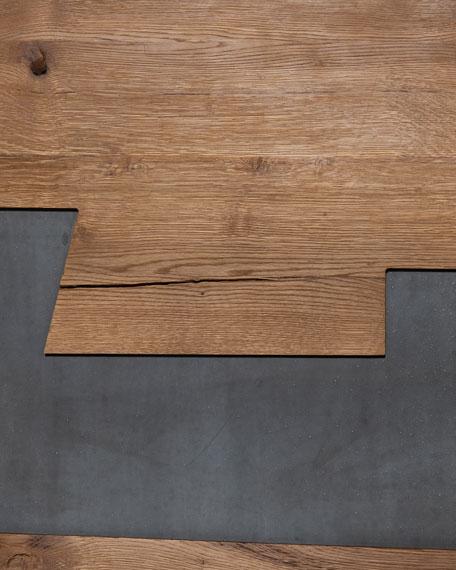 Four Hands Cabrini Gunmetal Wall Panel Decor
