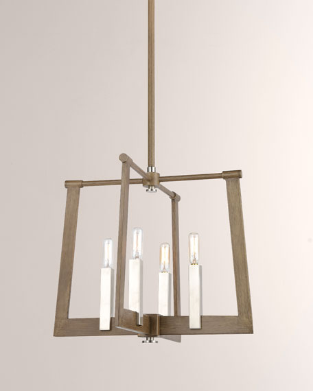Sterling Industries Axis 4-Light Large Vertical Pendant