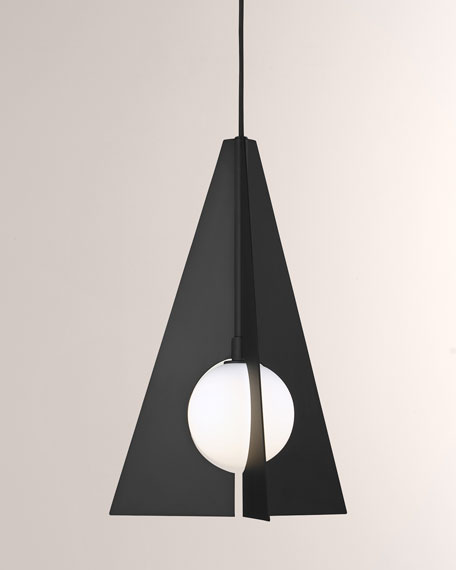 Tech Lighting Orbel Pyramid Pendant Light