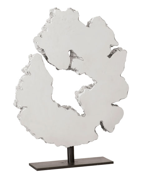 The Phillips Collection Lava Slice Sculpture on Stand