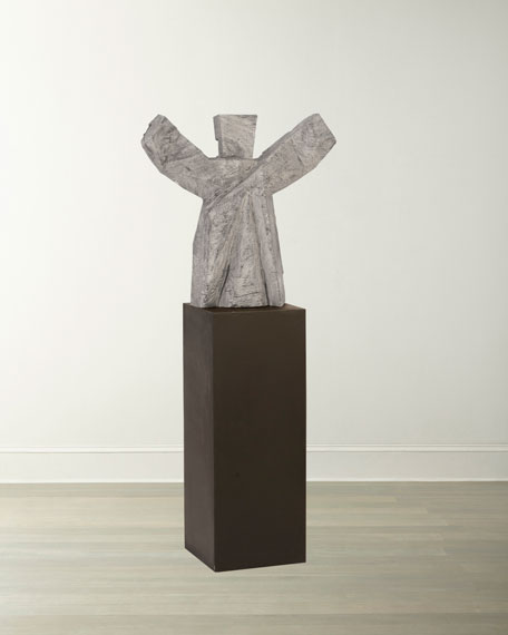 The Phillips Collection Tai Chi Sculpture on Pedestal