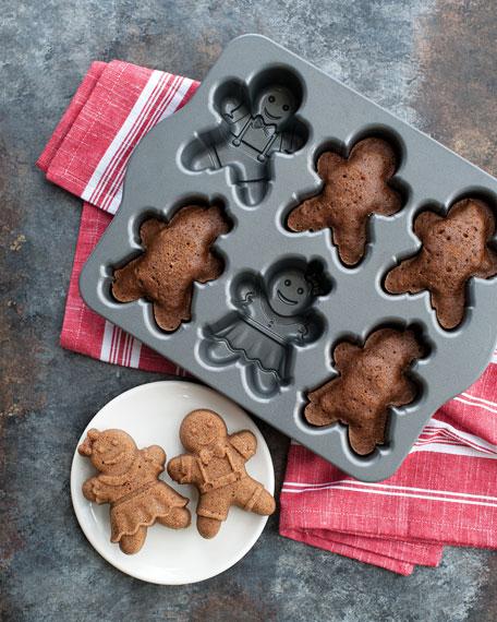 Nordic Ware Gingerbread Kids Cakelet Pan