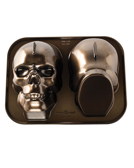 Nordic Ware Haunted Skull Cake Pan