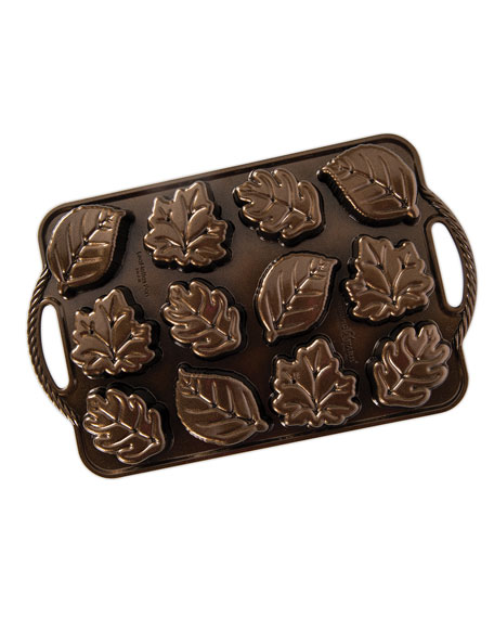 Nordic Ware Leaf-Lettes Cakelet Pan