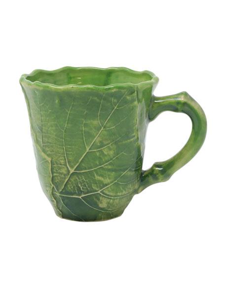 Vietri Foglia Stone Mug