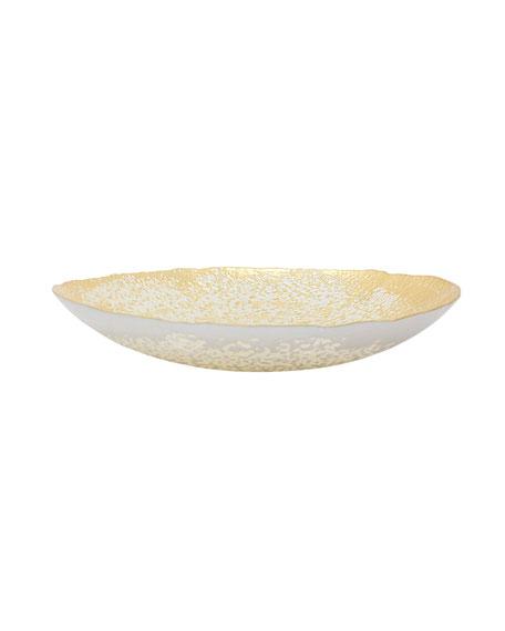 Vietri Two-Tone Glass Large Bowl