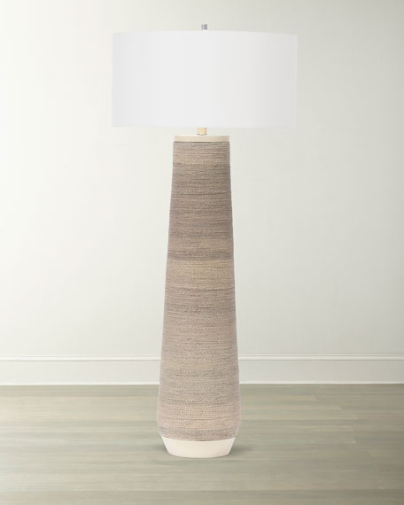 Palecek Aviana Rope Floor Lamp