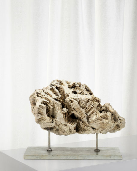 Palecek Keller Low Fossilized Coral Decor