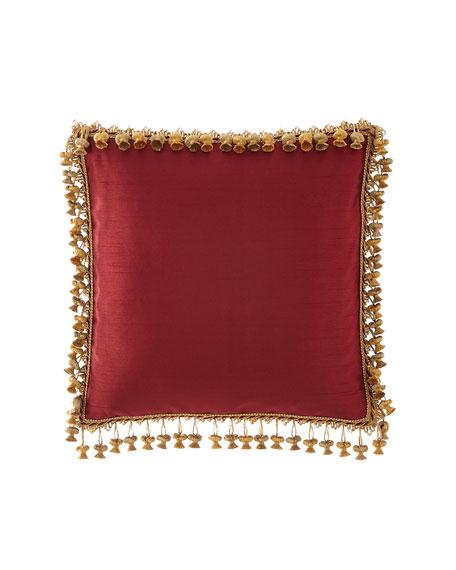 Dian Austin Couture Home Rose de Rescht Square Pillow