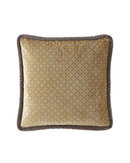 Austin Horn Collection Lanai Diamond Euro Sham